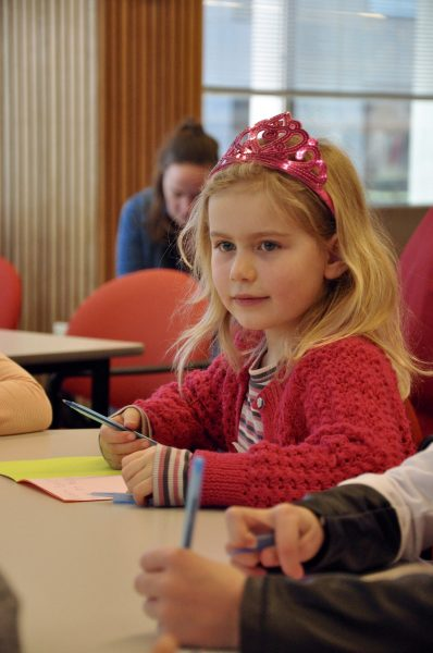 Genevieve, age 6