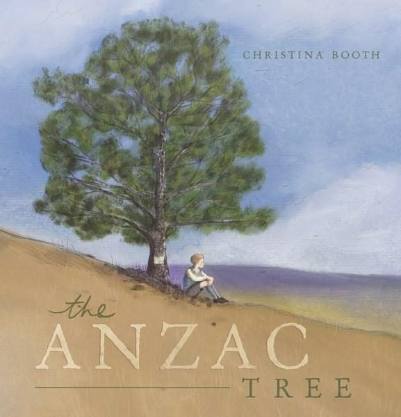 Cover of the Anzac Tree by Christina Booth