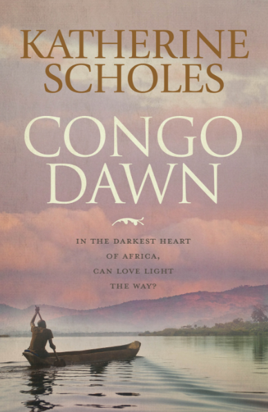 Katherine Scholes book cover Congo Dawn